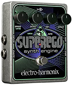 Electro Harmonix Superego Synth Engine Guitar Effects Pedal