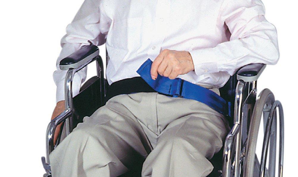 SkiL-Care Wheelchair Safety Belt, Hook and Loop Closure