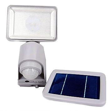 Proyector LED (Ultra 400lm 6500 K (blanco) puerta/Patio - Detector de presencia 8 M 140 °: Amazon.es: Electrónica