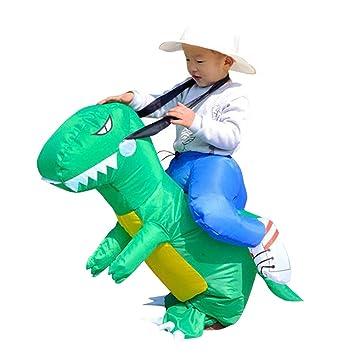 Gazechimp Traje Inflable de Niños Forma de Dinosaurios ...