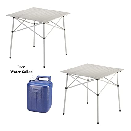 Delicieux Coleman Outdoor Folding Table | Ultra Compact Aluminum Camping Table (2 Set)