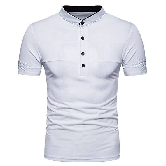 Polo Manga Corta con Cuello Slim Fit Tops Golf Camiseta para ...
