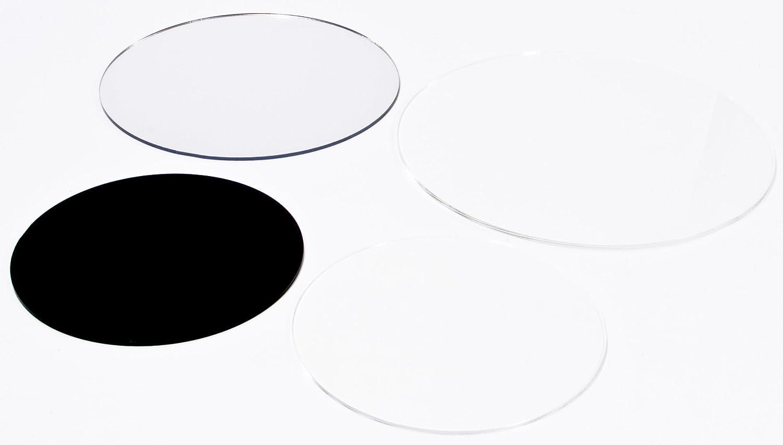 4mm XT Kreiszuschnitt aus Acryl 32 cm Durchmesser transparent Plexiglas/®