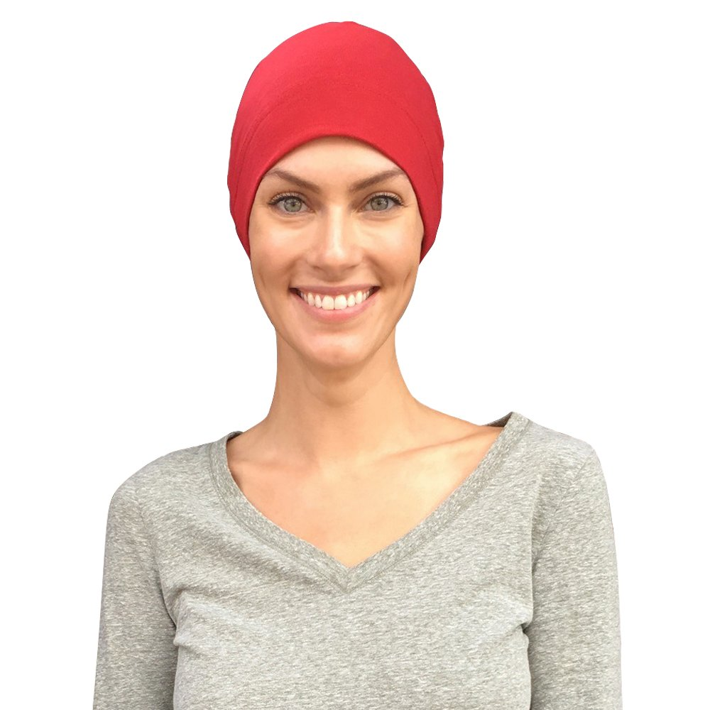 Chemo Caps Women, Cancer Hats, 100% Organic Cotton, Made in Canada Cate and Levi