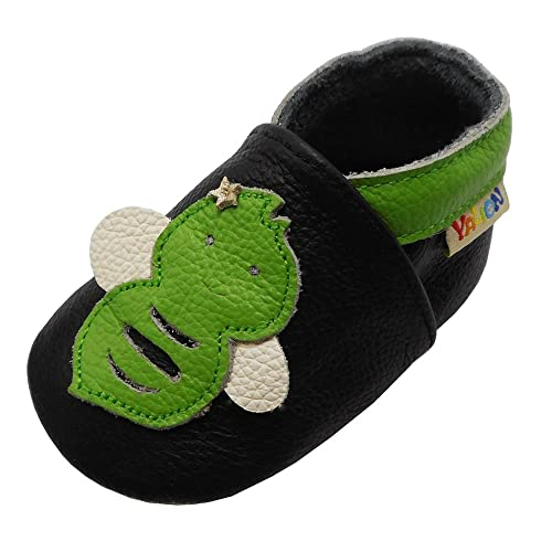 d67482d2a5d Yalion Soft Sole Leather Baby Shoes Toddler Infant Moccasins First Walking  Training Slippers Cartoon Bee(