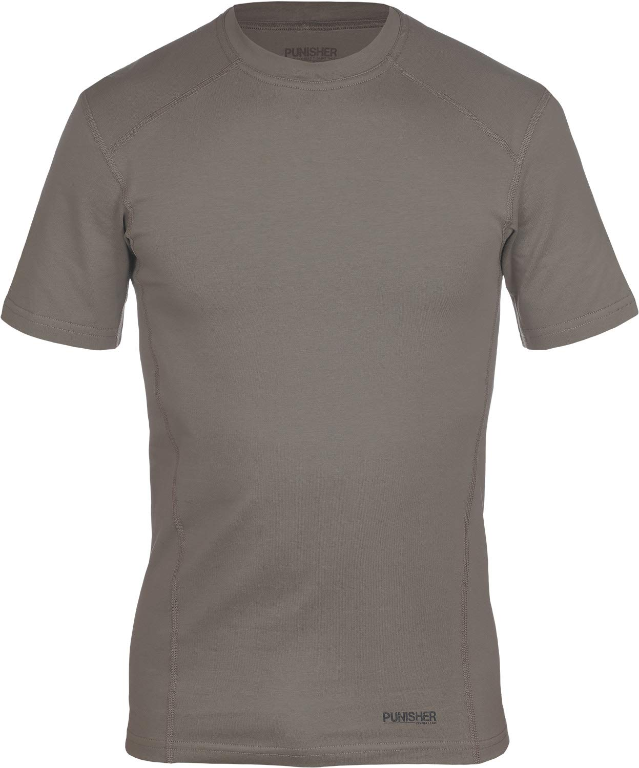 281Z Military Stretch Cotton Underwear T-Shirt - Tactical Hiking Outdoor - Punisher Combat Line (Olive Drab, Large) by 281Z