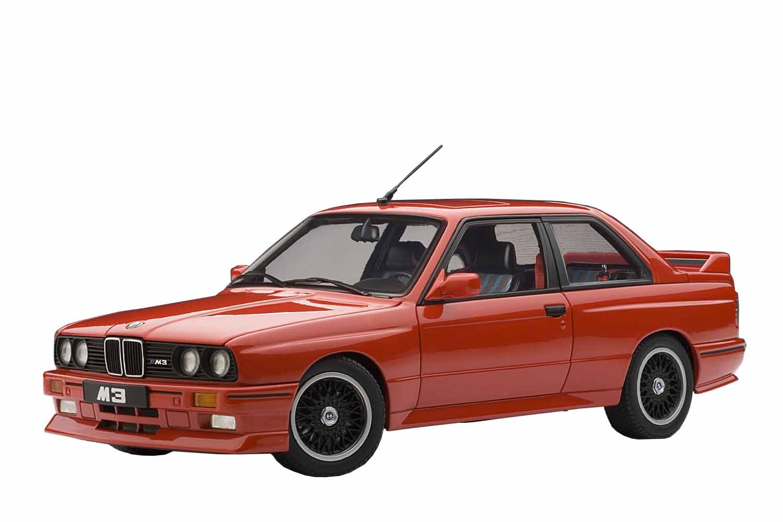 AUTOart 1/18 BMW M3 (E30) EVO チェコットエディション (レッド) 完成品 B000F48ZW6