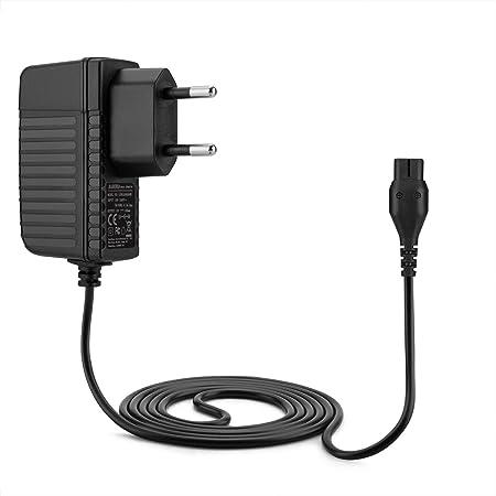 Aukru Cargador de 4.3v Fuente de alimentación para Philips Máquina de Afeitar eléctrica S100/S106/S108/S110/ S116/S510/S511/S512/S520/S530/S531/S538/S550/S551/S300/S311/S321/S330/S331/S360