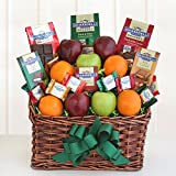 California Delicious Ghirardelli & Fruit Festival Gift Basket by Ghirardelli