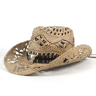 Isidore Hand Craft AZT Vintage Womem Men Western Cowboy Hat Jazz ... 24bc285a822