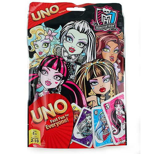 Monster High UNO in Resealable Bag