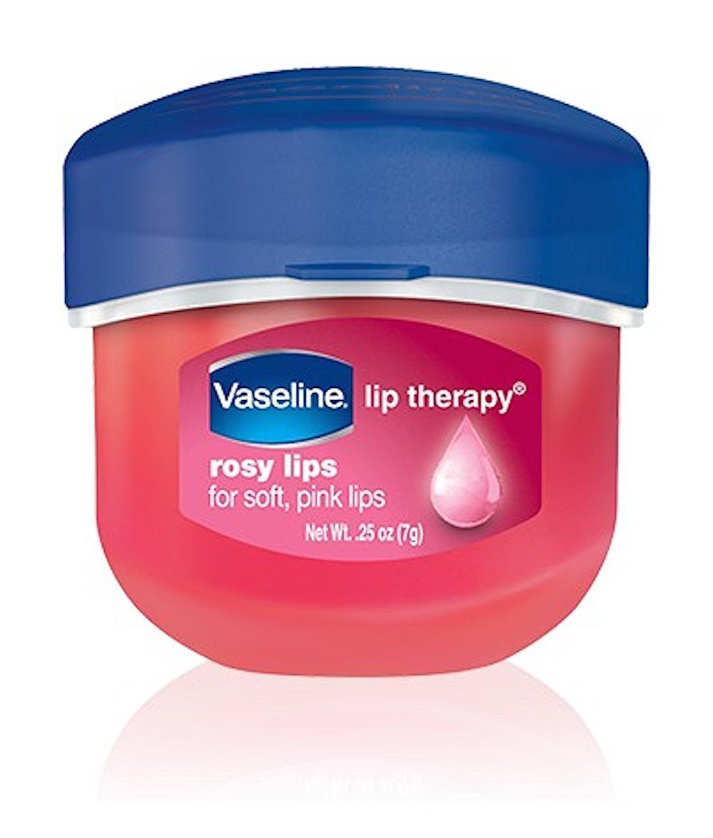 Vaseline, Rosy Lips, Lip Therapy, .25 OZ, (Pack of 4)