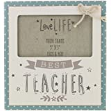 """'Best Teacher' Quirky 5"""" x 3"""" Photo Frame Gift by Haysom Interiors"""