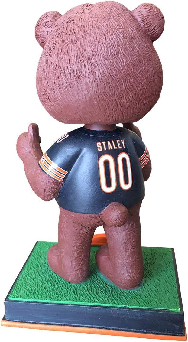 Mascots Stadium Lights Bobblehead by Foco Chicago Bears Staley Da Bear