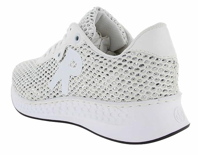 Rieker N5610 Femmes Baskets Blanc, EU 36