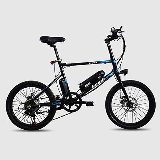 Jun Bicicleta De Ciudad Eléctrica Plegable De Aleación Ligera De ...