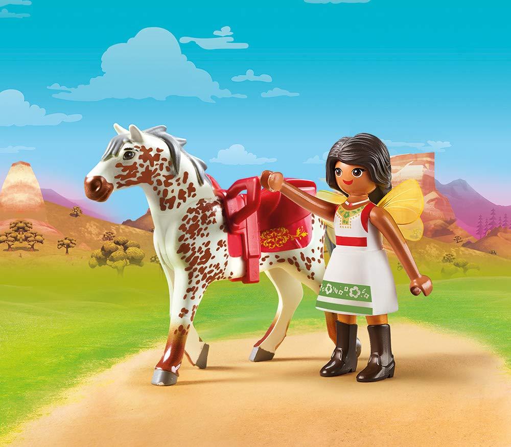 DreamWorks Spirit 70123 Vaulting Solana by PLAYMOBIL