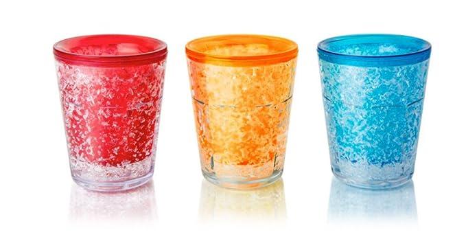 Toque Final congelable typeandcolor juego de 3 vasos de chupito ...
