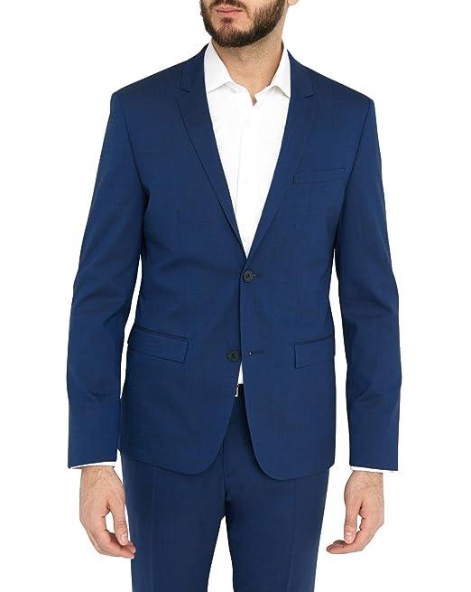 e4b26f367d4 Calvin Klein - Chaqueta de traje - para hombre azul azul 60  Amazon.es  Ropa  y accesorios