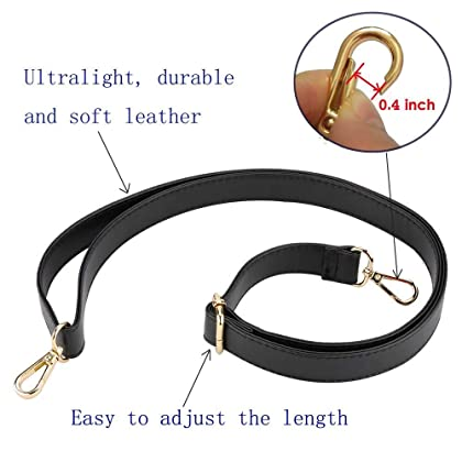 a1c0a064da3c4 Purse Strap Replacement - Adjustable Microfiber Leather Strap for Cross  Body Bag or Handbag - 34