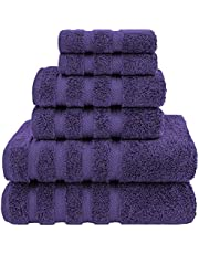 Premium, Turkish Towel Set, Luxury Hotel & Spa Towel Sets for Maximum Softness and Absorbency by American Soft Linen
