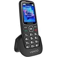 VIENOD V206 2G Teléfono Móvil para Mayores, Pantalla