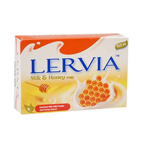 Buy A2Z Trade Lervia Milk & Honey Soap-75G Each-Pack of 10 Soap ...
