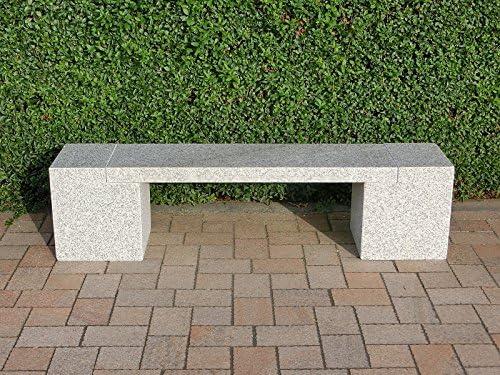 StoneProducts Burano - Banco de piedra natural para jardín: Amazon.es: Jardín