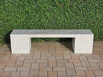 piedra natural Banco Jardín Banco de piedra Granito Asiento banco de granito Burano: Amazon.es: Jardín