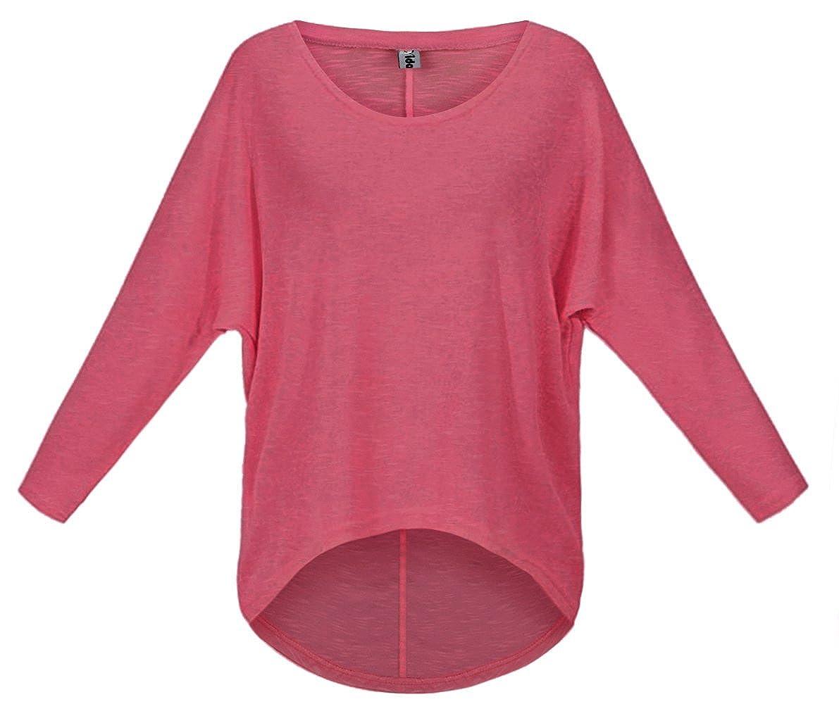 Cindeyar Asymmetrisch Pullover Pulli Oversize Strickjacke Longshirt Tunika Elegant Langarm Oberteile Tops T-Shirt