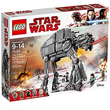 LEGO Star Wars Episode VIII First Order Heavy Assault Walker (75189)