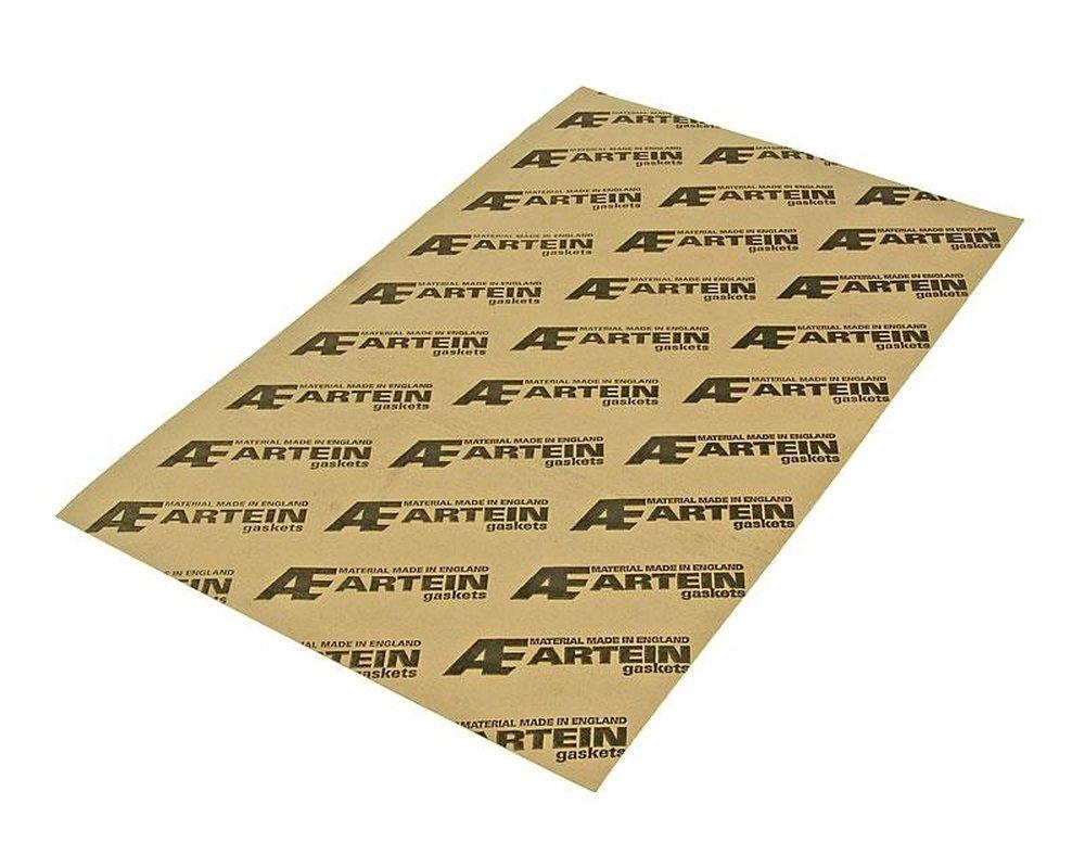 Joint en papier universel - Dimensions : 300 x 450 mm - É paisseur : 1 mm - Tempé rature maximale : 120 ° C - Pour les scooters, les quads et les motocyclettes ARTEIN