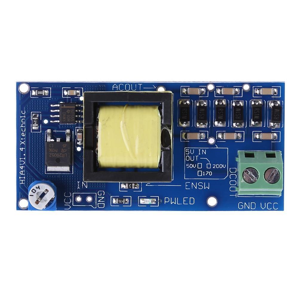 Everpert High Voltage DC-DC Boost Converter Input 3-5V Step-up Output 300V-1200V 400V 900V 1000V Adjustable Power Supply PSU Module