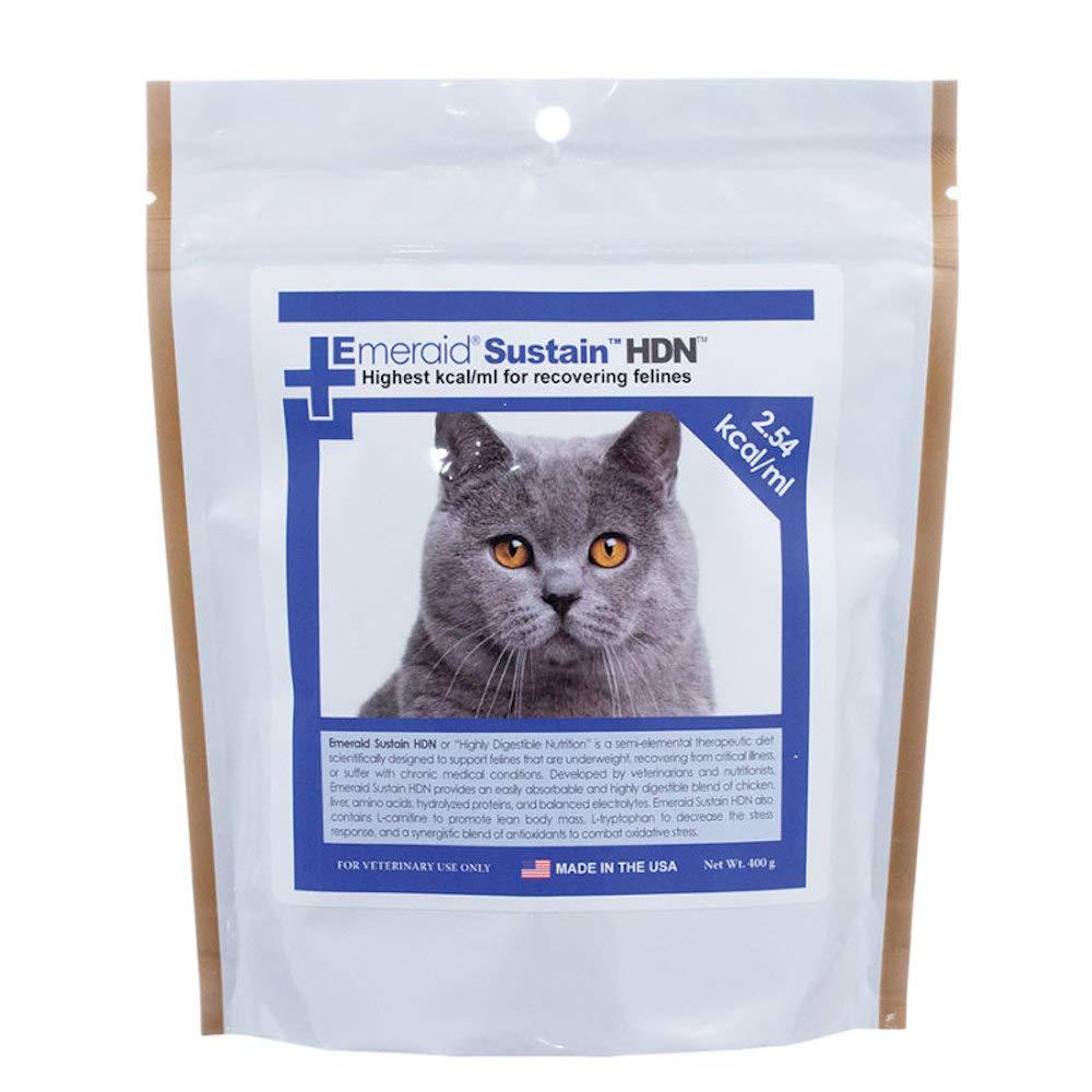 EmerAid Sustain HDN Life-Saving Nutritional Powder for Felines - 100 Grams by EmerAid