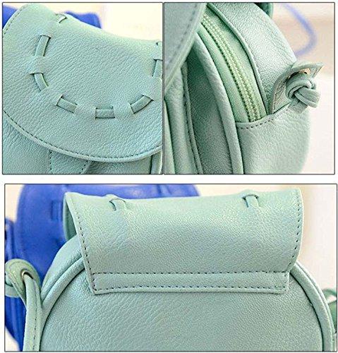 STINNA - Bolso mochila  de Piel para mujer rosa