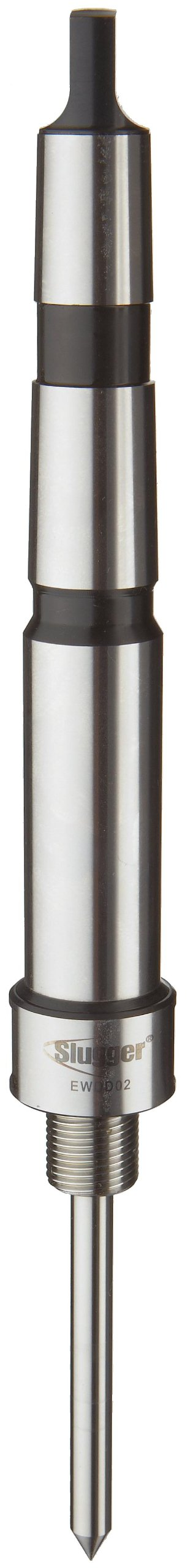 Jancy Slugger EWDD02 3 Morse Taper Industrial Arbor With Coolant Inducer, For M18 X 1.5 Threaded Bore Slugger Carbide Tipped Cutters