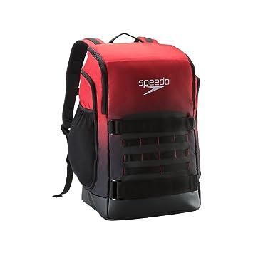 Speedo Teamster Pro 40L - Mochila - 7752015, Talla única, Rojo (Speedo Red): Amazon.es: Deportes y aire libre