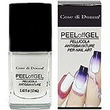 Peel Off Gel Esmalte desmontable protector tipo bandana para Nail Art Stamping y aerógrafo líquido protector de dedos y piel Made in Italy