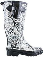 Sakroots Rhythm Jet Brave Beauti Women's Rain Boots