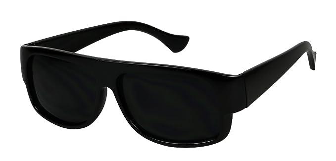 Amazon.com: Basik Eyewear – Old School Gansta Dark Lens OG ...