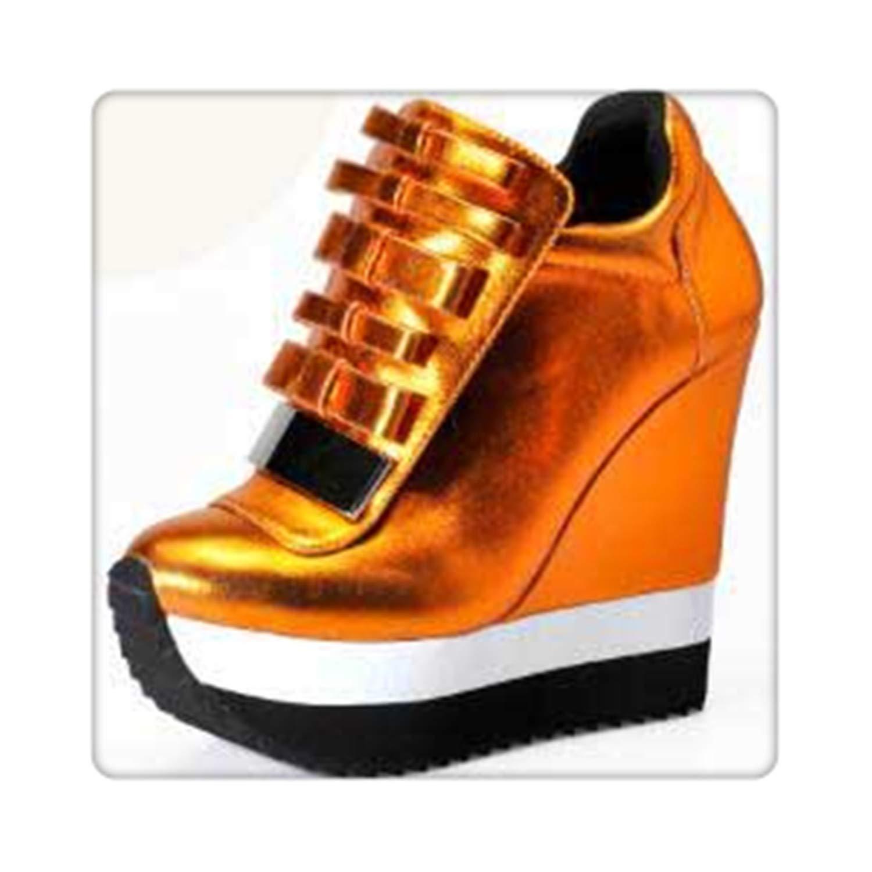 Caramel BIONGTY& Women Height Increase Pumps Women Autumn Winter shoes High Heels Trending color