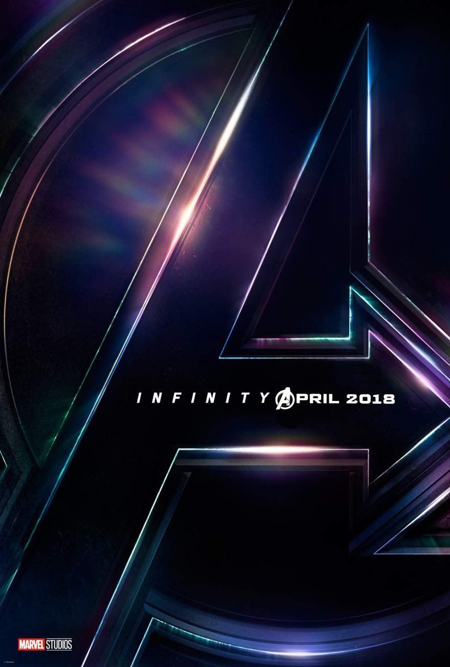 AVENGERS INFINITY WAR MOVIE POSTER 2 Sided ORIGINAL INTL Advance 27x40 MARVEL