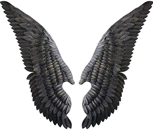 AINIYF Wall Decoration/Wall Hanging Wrought Iron Angel Wings/Wall Decoration Bar Wall Hanging