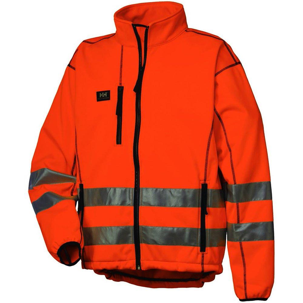 Helly Hansen chaqueta de Vitoria 74005Hi-Vis chaqueta funcional para naranja Orange EN471 XXXXL