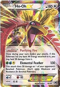 Amazon.com: Pokemon - Ho-Oh-EX (92/122) - XY Breakpoint