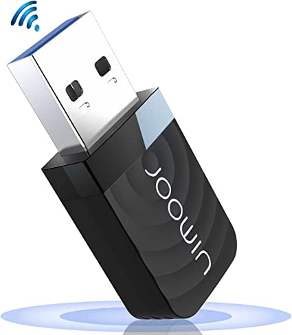 JOOWIN WiFi Adaptador USB,wifi usb 1300Mbps WiFi Antena USB 3.0 Dual Band 2.4GHz/5GHz Mini WiFi Dongle Adaptador Soporta Windows 7/8/8.1/10 / Mac OS ...