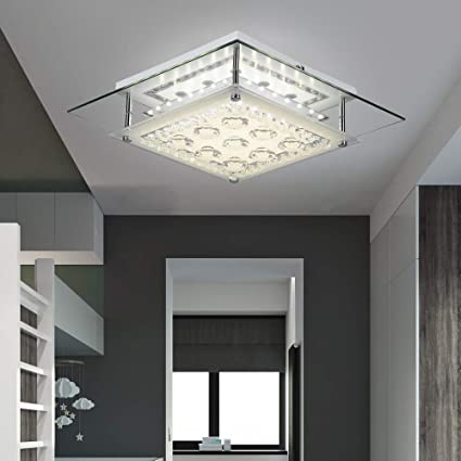hot sale online 9fea5 4846d AUDIAN Modern Ceiling Lights Contemporary Flush Mount Ceiling Light Square  Chandelier Lighting Fixture Ceiling Lamp Close to Ceiling Lighting LED ...