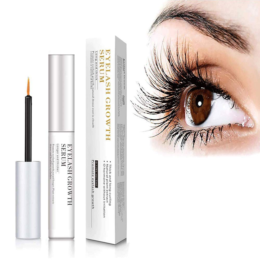 e8b7f3066aa Amazon.com: Lifelj Eyelash Growth Serum-Eyelash Growth Serum & Lash Enhancer  for Eyelashes and Brows 5ML (white 1): Beauty