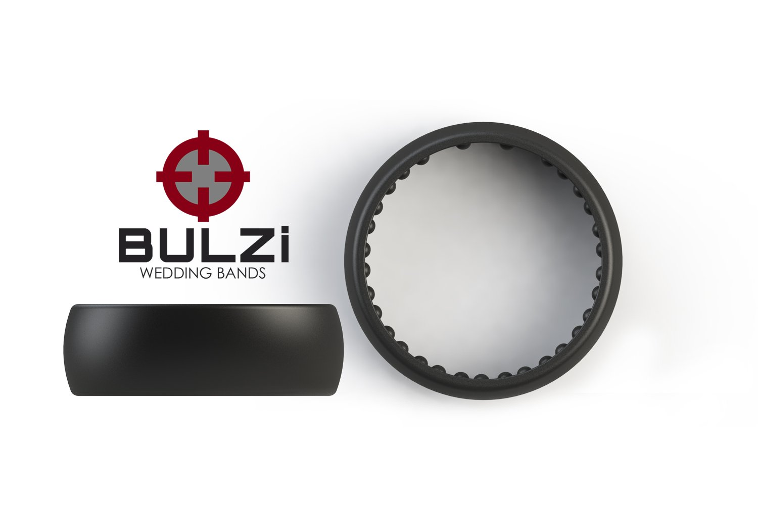 Amazoncom BULZi Massaging Comfort Fit Silicone Wedding Ring