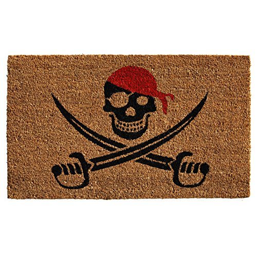 Home & More 121211729 Pirate Doormat, 17